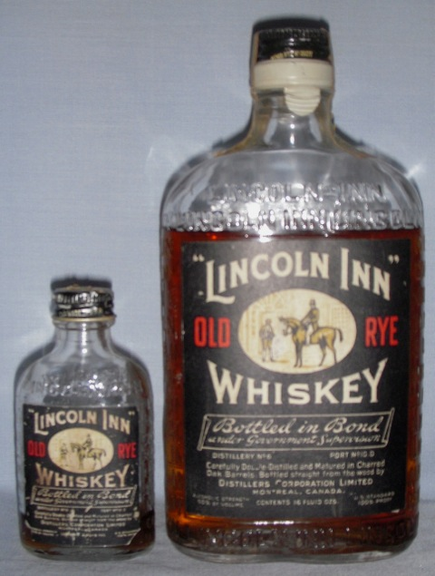 Lincoln Inn Old Rye Whiskey