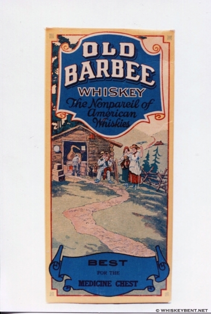 Old Barbee Original Box