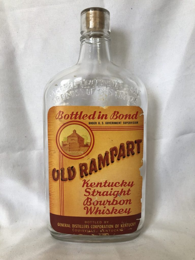 Old Rampart Kentucky Straight Bourbon Whiskey