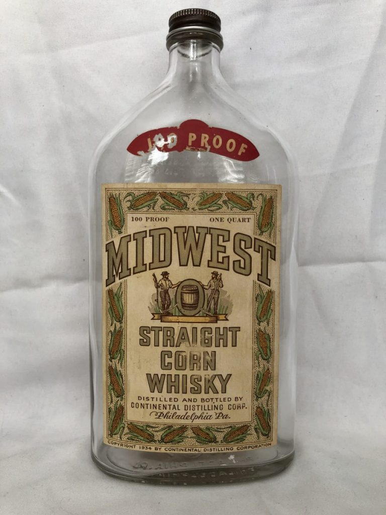 Midwest Straight Corn Whiskey