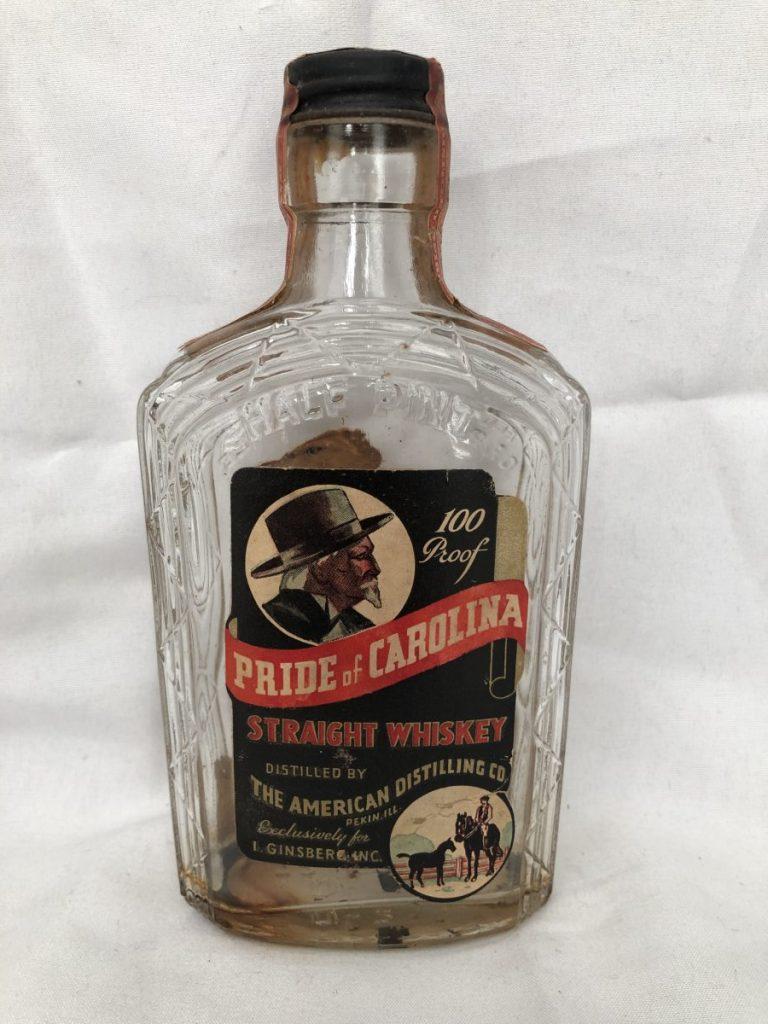 Pride of Carolina Straight Whiskey