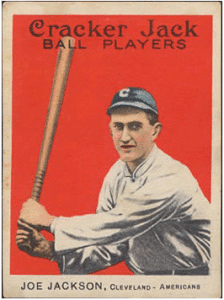 "1914 Cracker Jack ""Shoeless"" Joe Jackson"