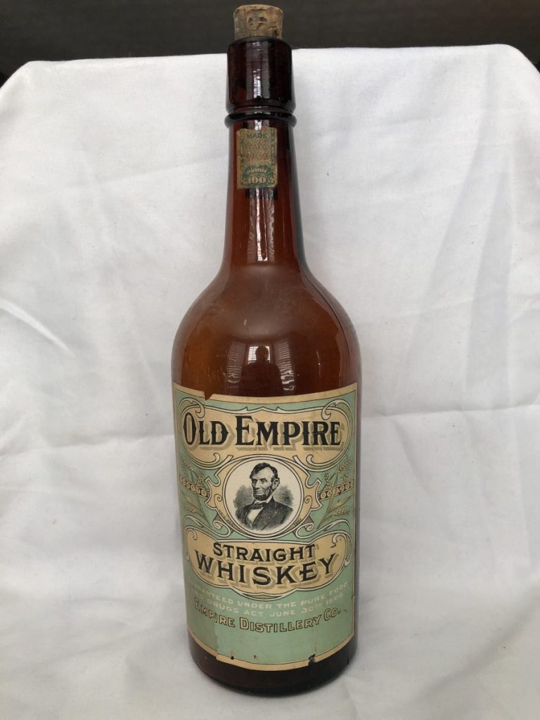 Old Empire Straight Whiskey