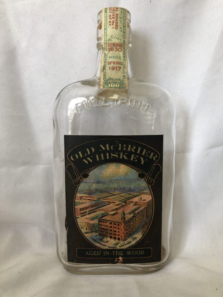 Old McBrier Whiskey