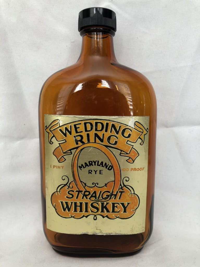 Wedding Ring Straight Whiskey