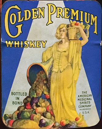 Golden Premium Whiskey
