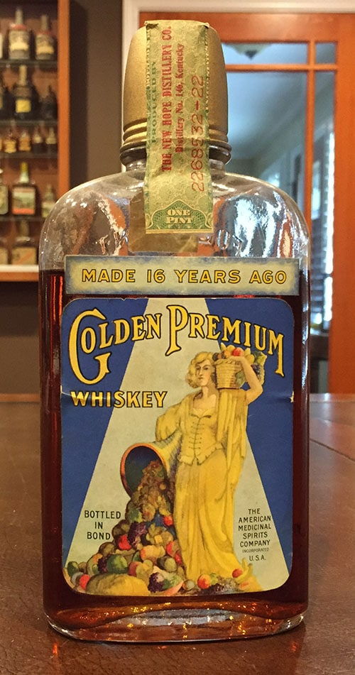 Golden Premium Whiskey