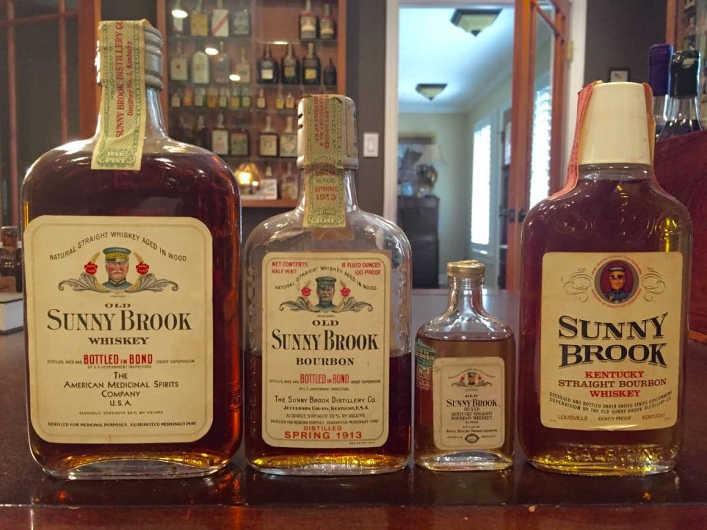 Old Sunny Brook Bourbon Whiskey