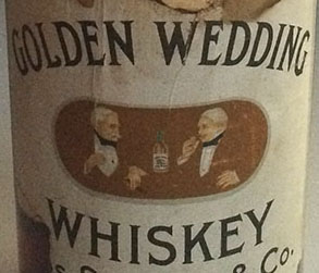 golden-wedding-label